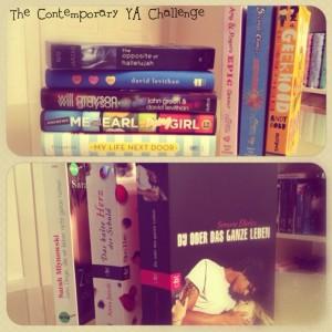 The Contemporary YA Challenge_Bücher