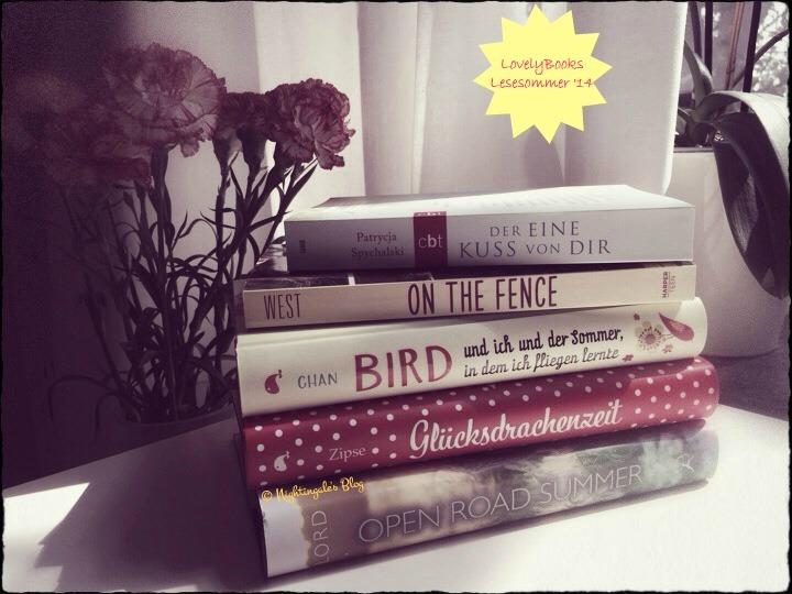 LB Lesesommer '14_meine Bücher