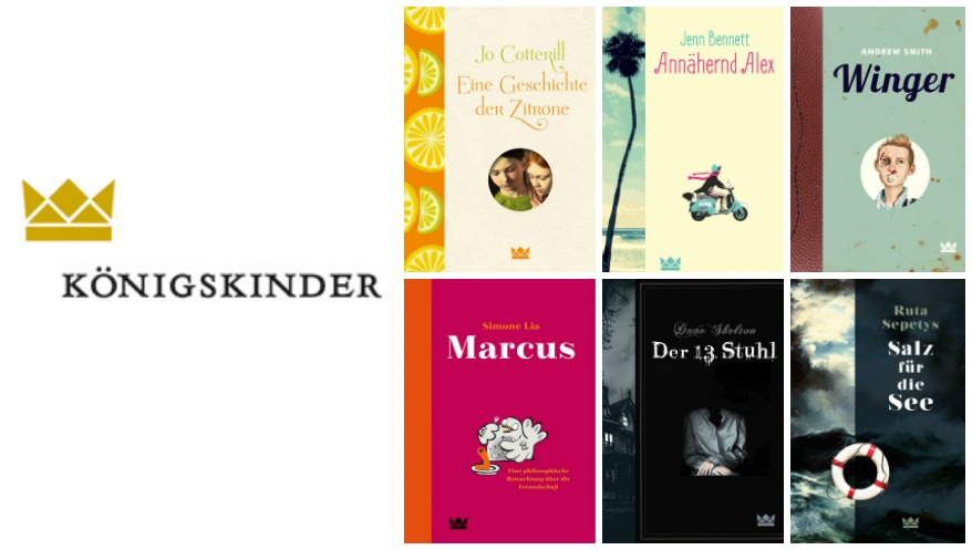 Das Kaleidoskop des Königskinder Verlags - der bunte Herbst 2016