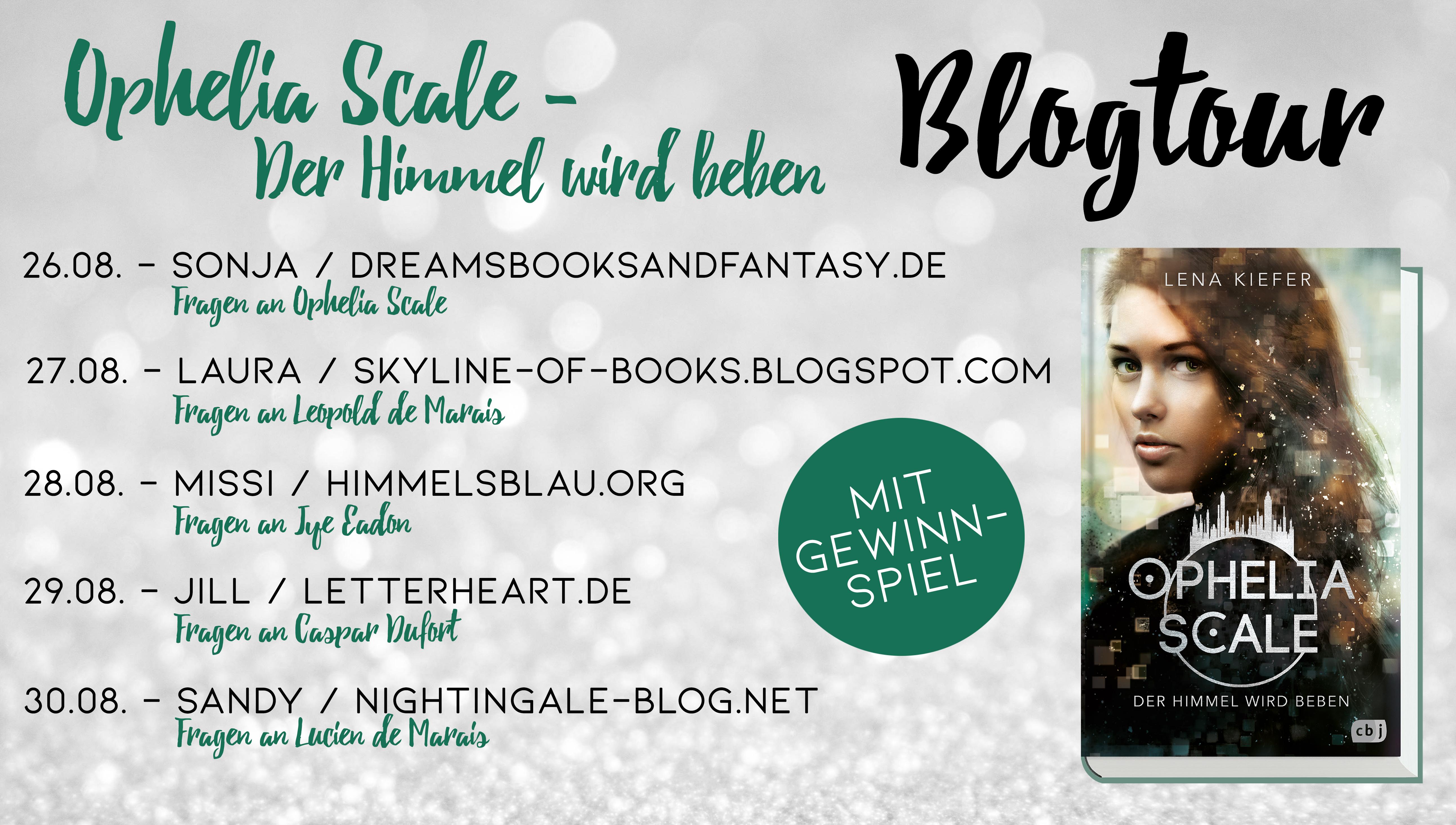 Blogtour - Ophelia Scale