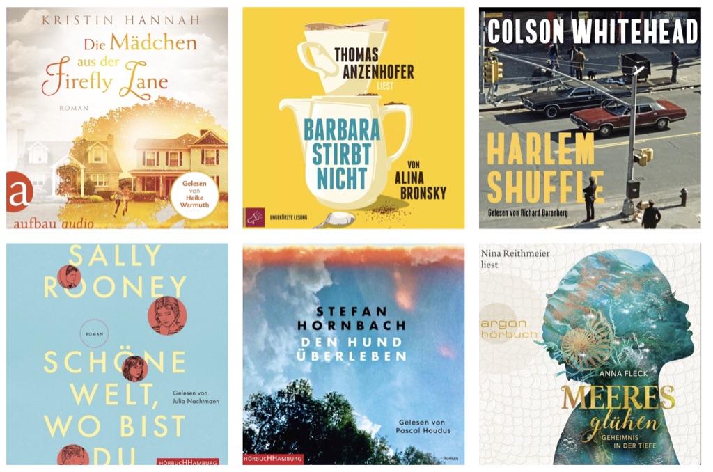 Neue Bücher für die Lauscher!
